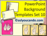ASL Powerpoint Backgrounds Set 10