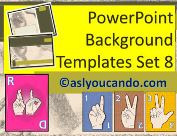 ASL Powerpoint Backgrounds Set 8