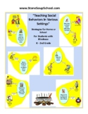 Braille, K- 2 Teaching Social Behaviors w/ Visual Aids for