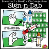 ASL SIGN AND DAB A TO Z #DistanceLearningTpT