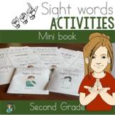 ASL Second Grade Sight Word Mini Books