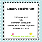 American Sign Language (ASL) ~Sensory Reading Mats Sight Words