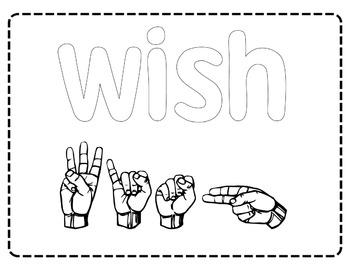 American Sign Language (ASL) ~Sensory Reading Mats Sight Words