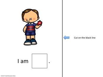 ASL Sentence Starter Adapted Book- Verb part 1
