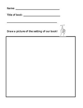 ASL Setting of a book worksheet