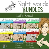 ASL Sight Word Curriculum- Let's Read Bundle
