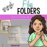ASL Sight Word File Folder Set 5