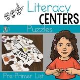 ASL Literacy Center- Pre-primer puzzle