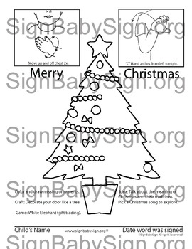 ASL, Sign Language how to sign Merry Christmas & Free stuff
