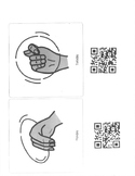 ASL Sign of the Week with QR Codes and Visuals