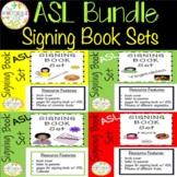 ASL Signing Book Sets Bundle