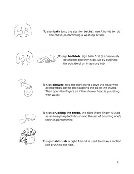 ASL Signs for Home
