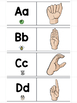 ASL Sign Language Sliders Letters, Numbers, and Colors - Read, Sign, and Check