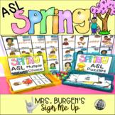 ASL Spring Activities
