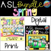 ASL Spring Vocabulary Bundle