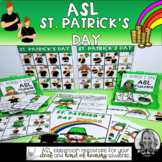 ASL St. Patrick's Day Activities