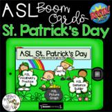 ASL St. Patrick's Day Boom Cards