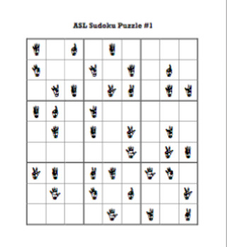ASL Sudoku Puzzle