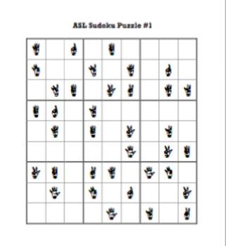 ASL Sudoku Puzzles (10 puzzles)