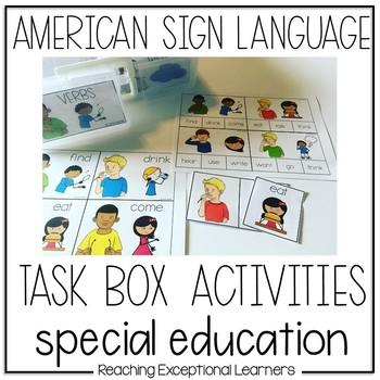 ASL Task Box Activities
