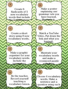 ASL Task Cards - Vocabulary, Culture - Editable