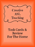 ASL Task Cards for the Home Unit