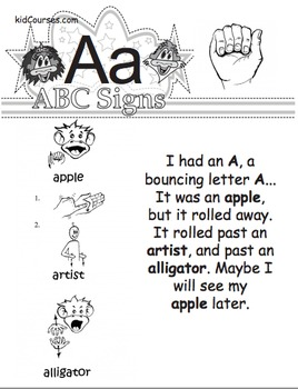 ASL - The Letter A