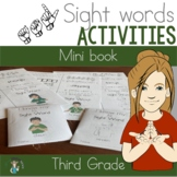 ASL Third Grade Sight Word Mini Books