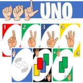 ASL UNO Style Card Game (American Sign Language)