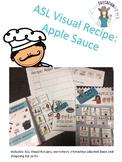 ASL Visual Recipes- lets make apple sauce