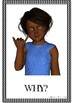 ASL WH Questions Bulletin Board and Activity Set - Mini ASL Lesson