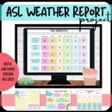 ASL Weather Report Project