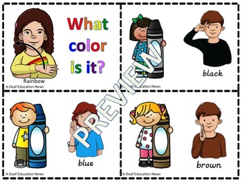 ASL: What color is it?