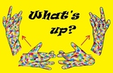 """ASL """"What's Up?"""" Poster"""