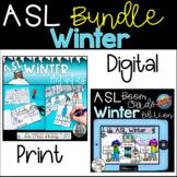 ASL Winter Vocabulary Bundle