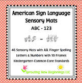 ABC-123 Sensory Mats using ASL