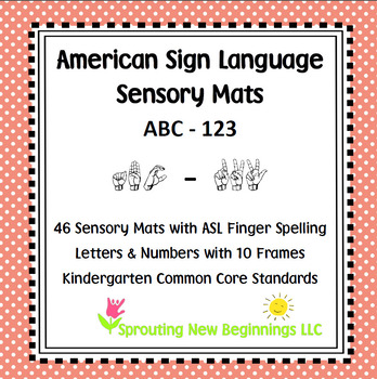 ABC-123 Sensory Mats using ASL