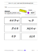 Sign Language Word Reading - Fingerspell - Write  | WTL 01 |  9 pgs - Video