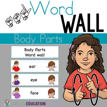 ASL: Word Wall- Body Parts