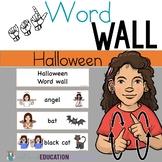ASL Word Wall- Halloween Theme
