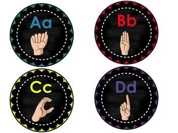 ASL Word Wall- Primer List