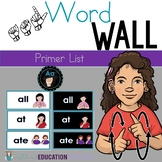 ASL Word Wall- Primer List