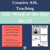 ASL Word of the Day Set #2