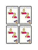 ASL card game - Too -Bad !  matching