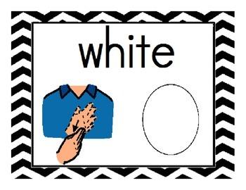 ASL colors-Sign Language