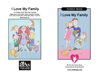 ASL eBook - Family Signs: I Love My Family