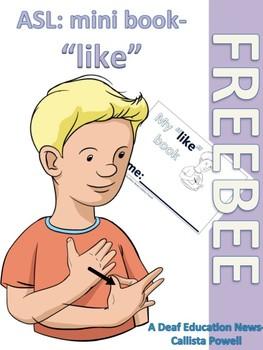 """ASL: """"like"""" mini book"""