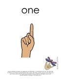 ASL number cards
