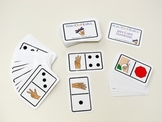 ASL number / dots domino mini cards