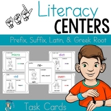 ASL- prefixes, suffixes, and root words task cards
